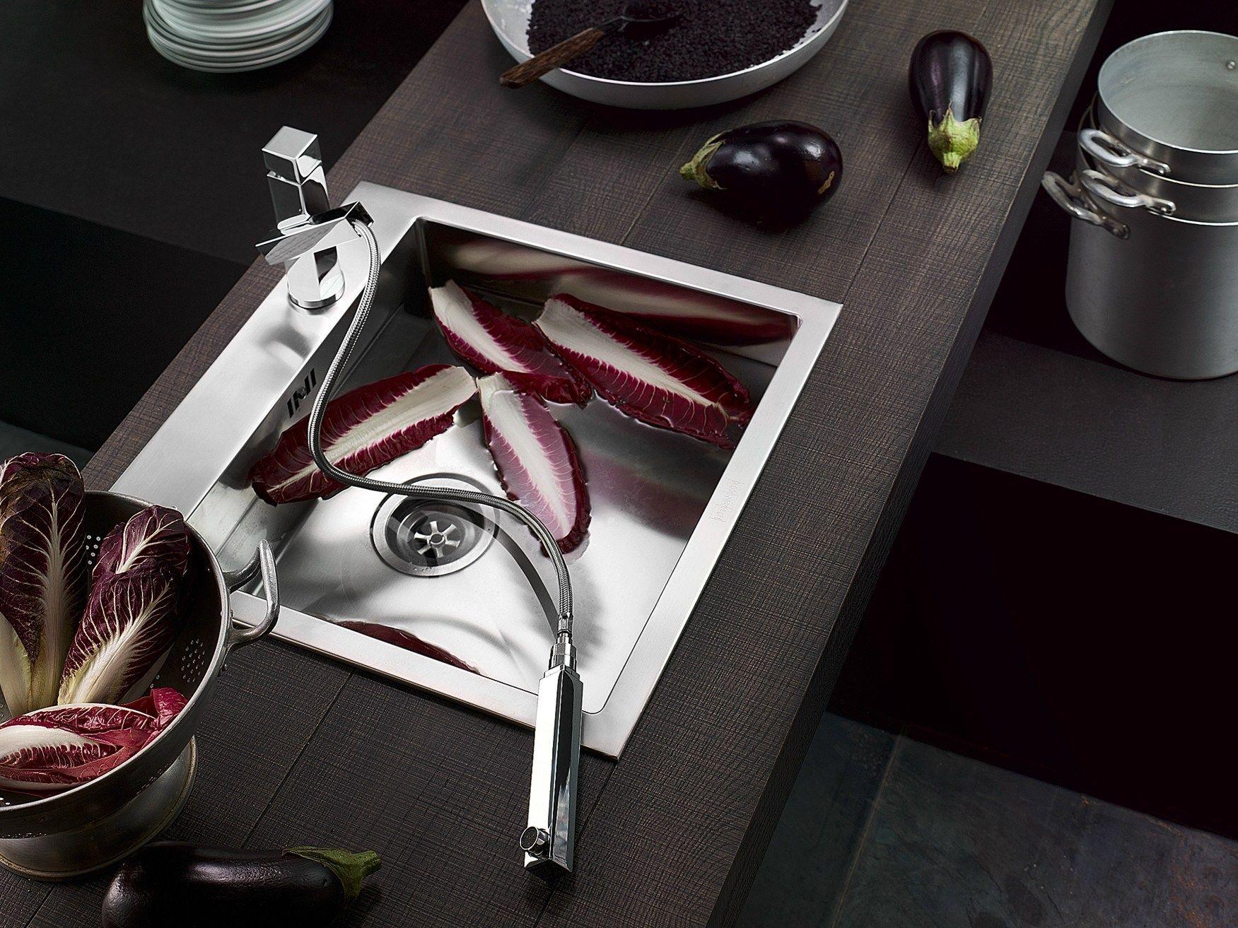 Tower Miscelatore Da Cucina Con Doccetta Estraibile By Carlo Nobili Rubinetterie Design Centro Stile: miscelatore cucina con doccetta estraibile