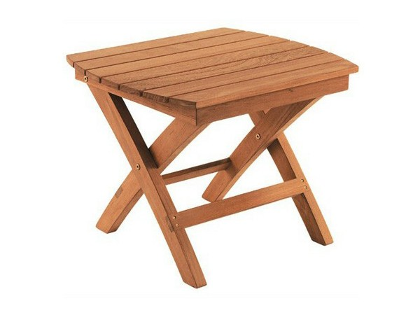 Teak Garden Side Table ADIRONDACK Folding Coffee Table Tectona
