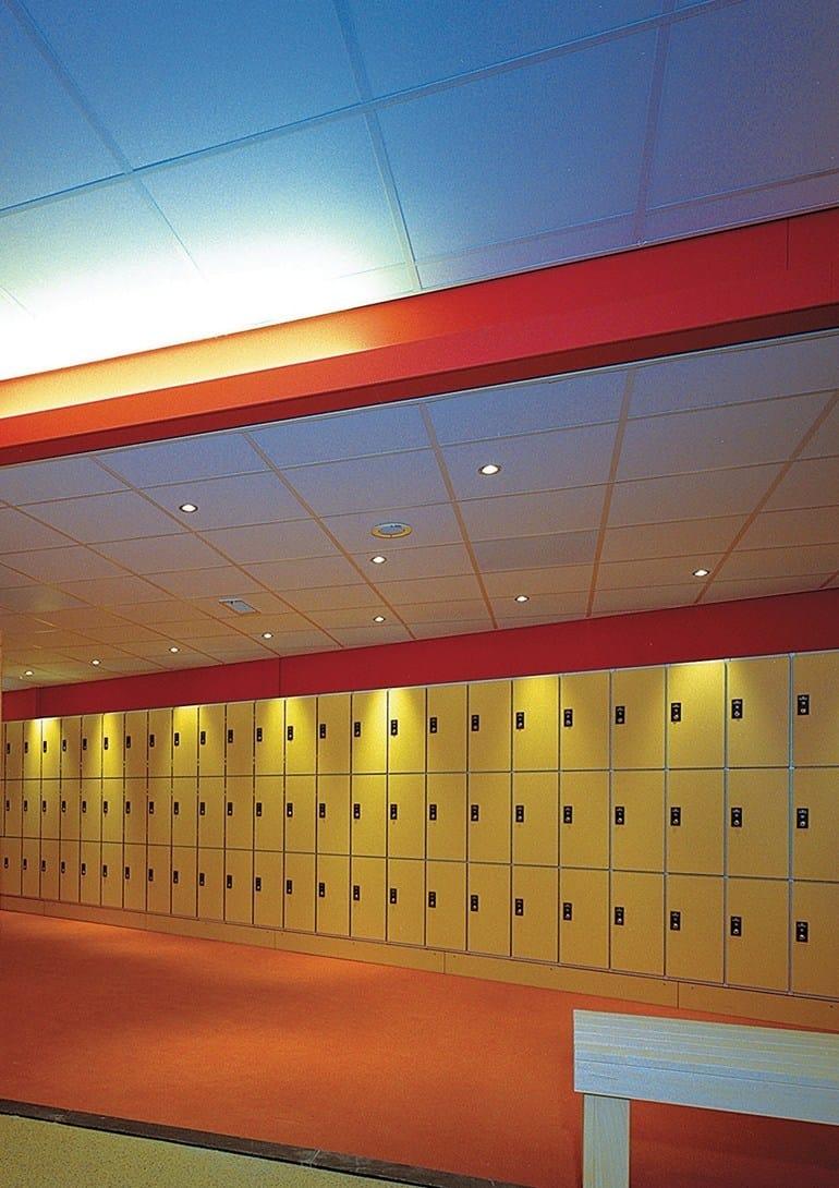 Faux-plafond résistant à l'humidité pour hôpitaux GyQuadro® PVC ...