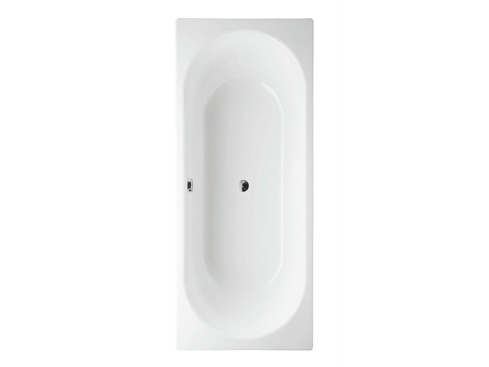 Vasca da bagno in acciaio smaltato da incasso bettestarlet by bette - Vasche da bagno in acciaio smaltato ...