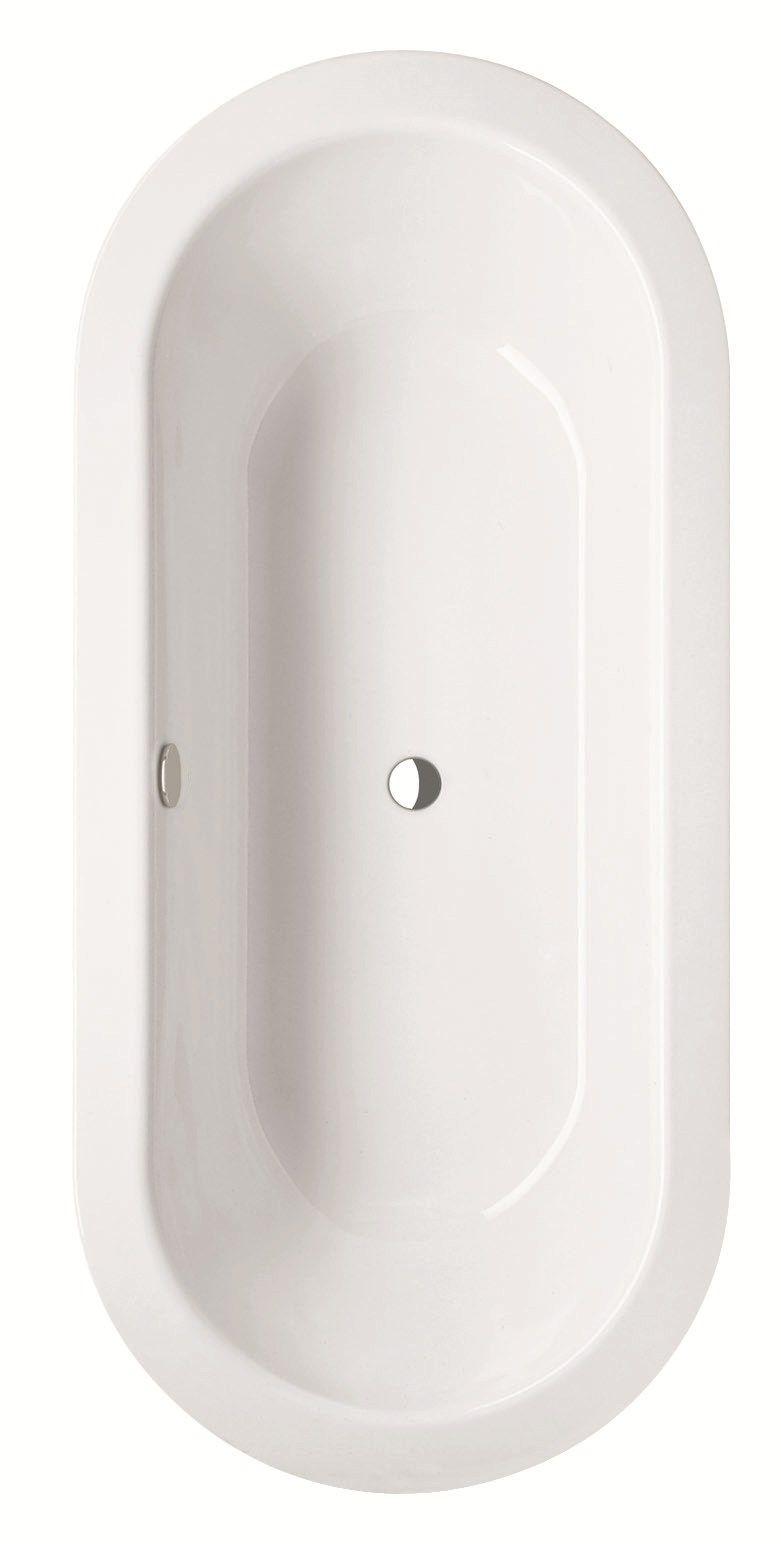 Vasca da bagno centro stanza ovale bettestarlet oval - Vasche da bagno ovali ...