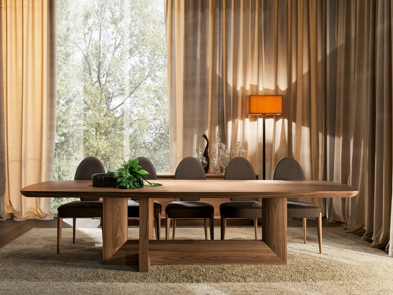 Indigo tavolo da pranzo by selva design leonardo dainelli - Tavola da pranzo ...
