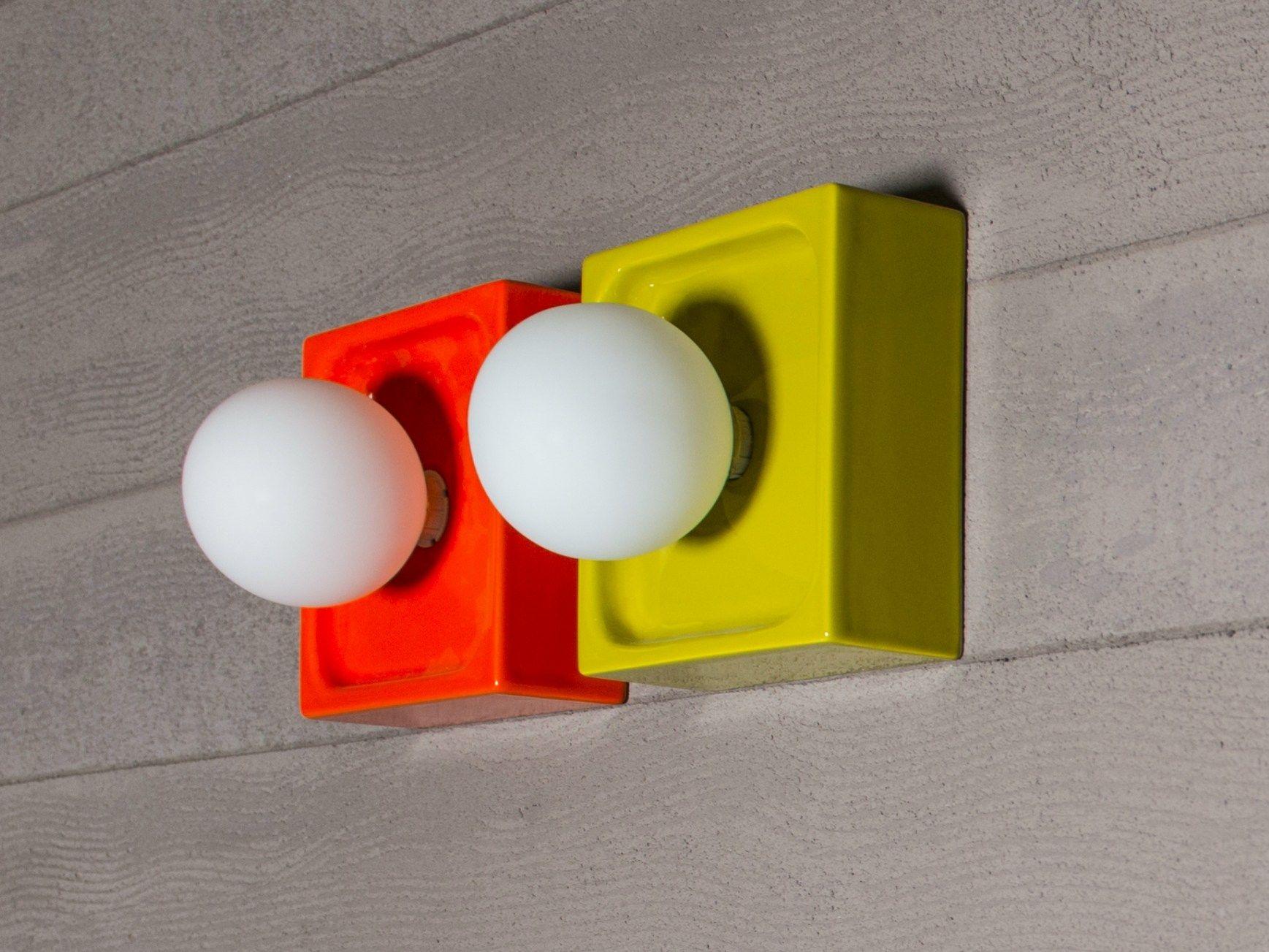Pic nic applique pour salle de bain by regia design bruna - Applique pour salle de bain ...