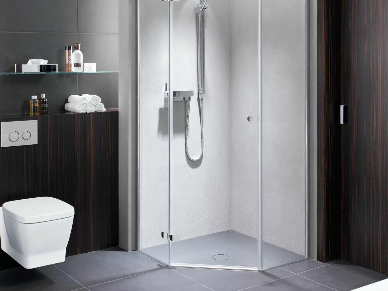 receveur de douche d 39 angle l 39 italienne bettefloor caro by bette. Black Bedroom Furniture Sets. Home Design Ideas