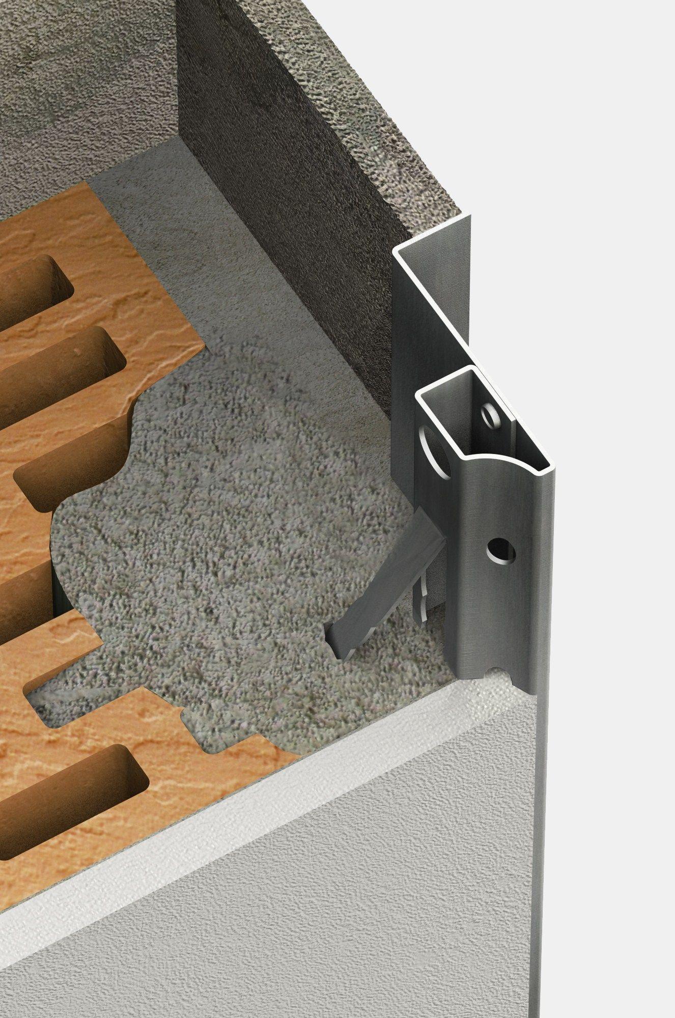 Controtelaio per fissaggio serramenti cb controtelaio by for Uniform sistemi per serramenti
