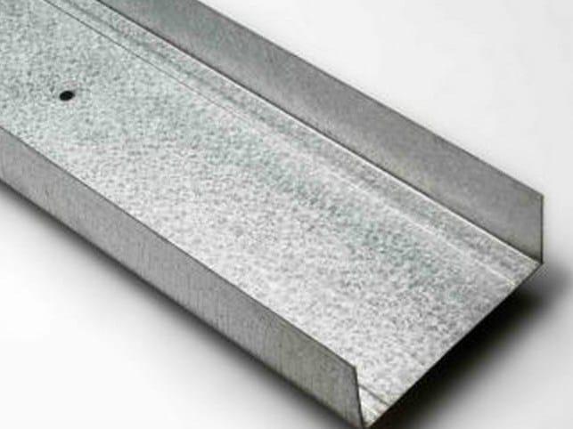 Profili guida in acciaio inox per controsoffitti pregymetalaquaboard by siniat - Profili acciaio per piastrelle prezzi ...