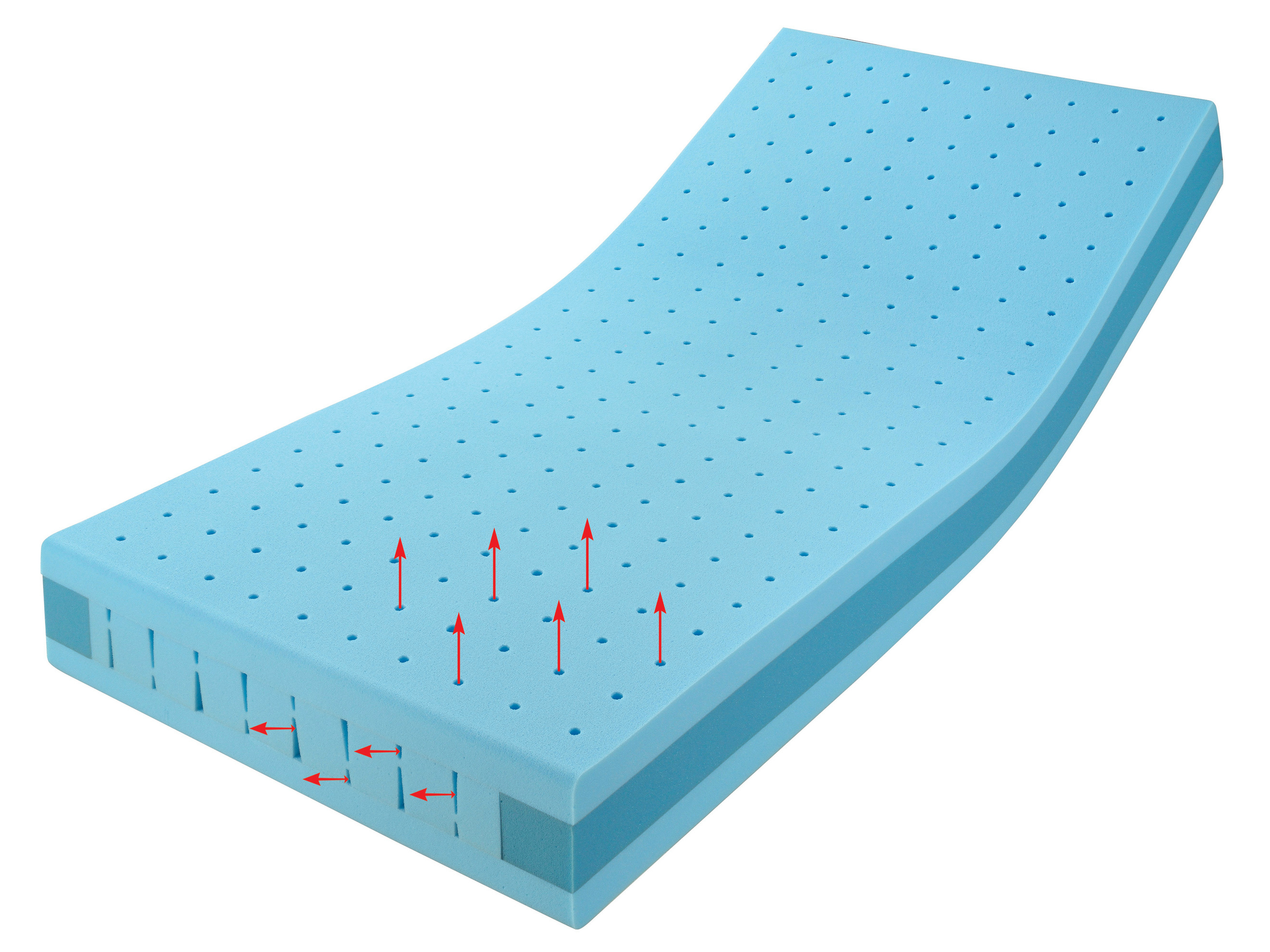 Polyurethane Foam Mattress : Polyurethane foam mattress air dream suite by hülsta