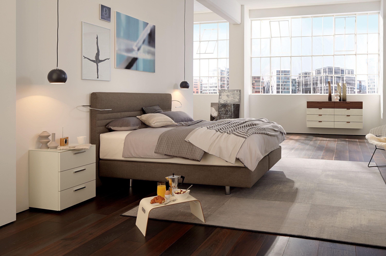 boxspring suite comfort cabecera alta by h lsta werke h ls. Black Bedroom Furniture Sets. Home Design Ideas