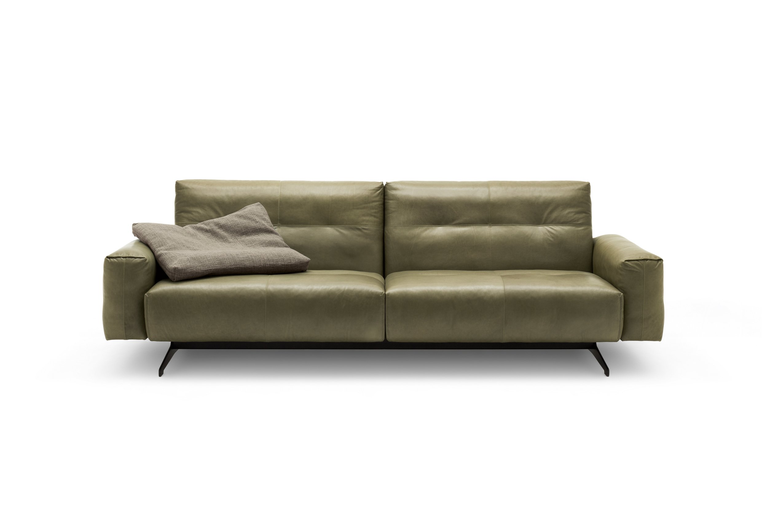 Rolf Benz 50 Leather Sofa By Rolf Benz Design Norbert Beck