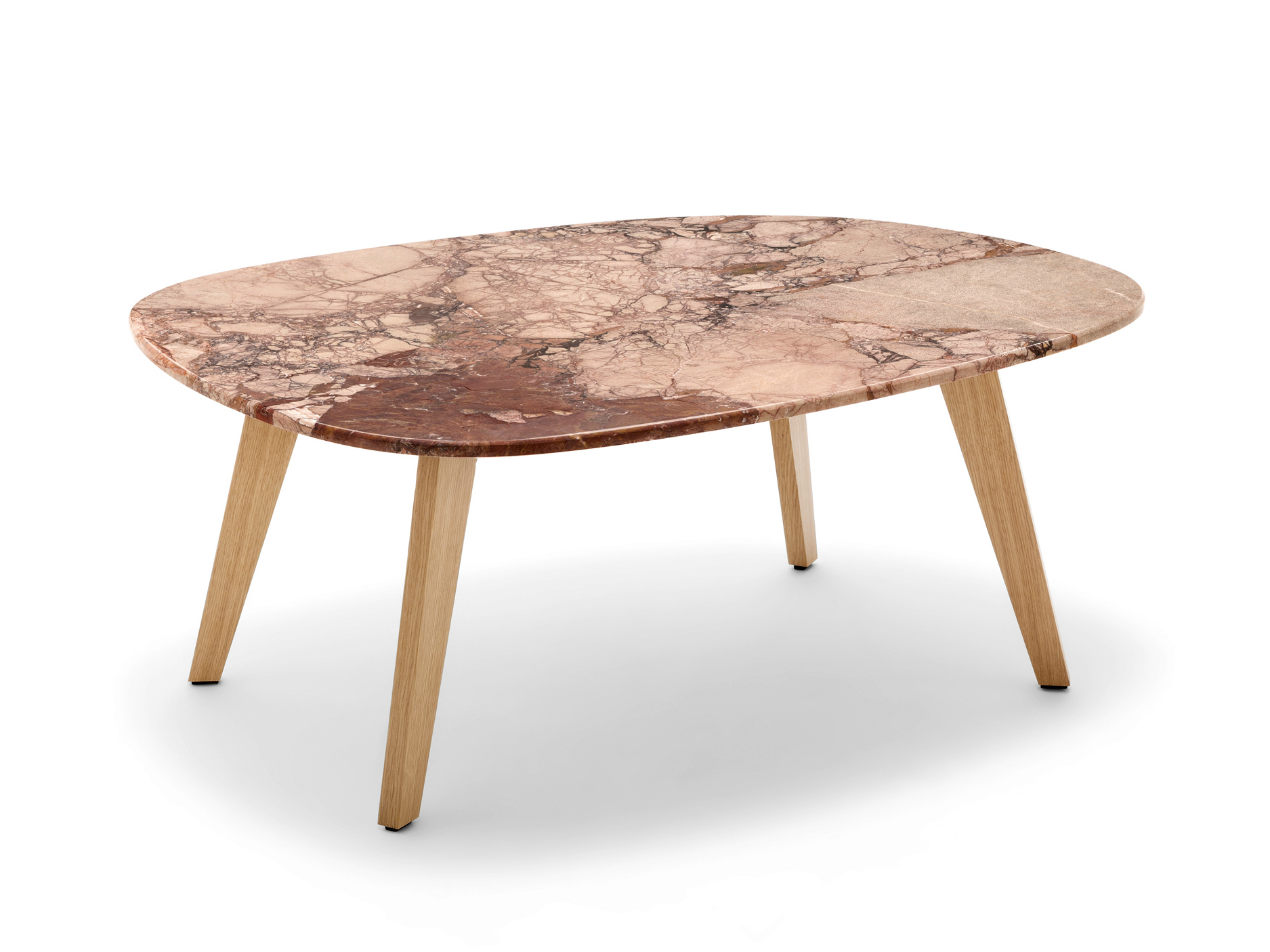 Low Natural Stone Coffee Table Rolf Benz 955 By Rolf Benz