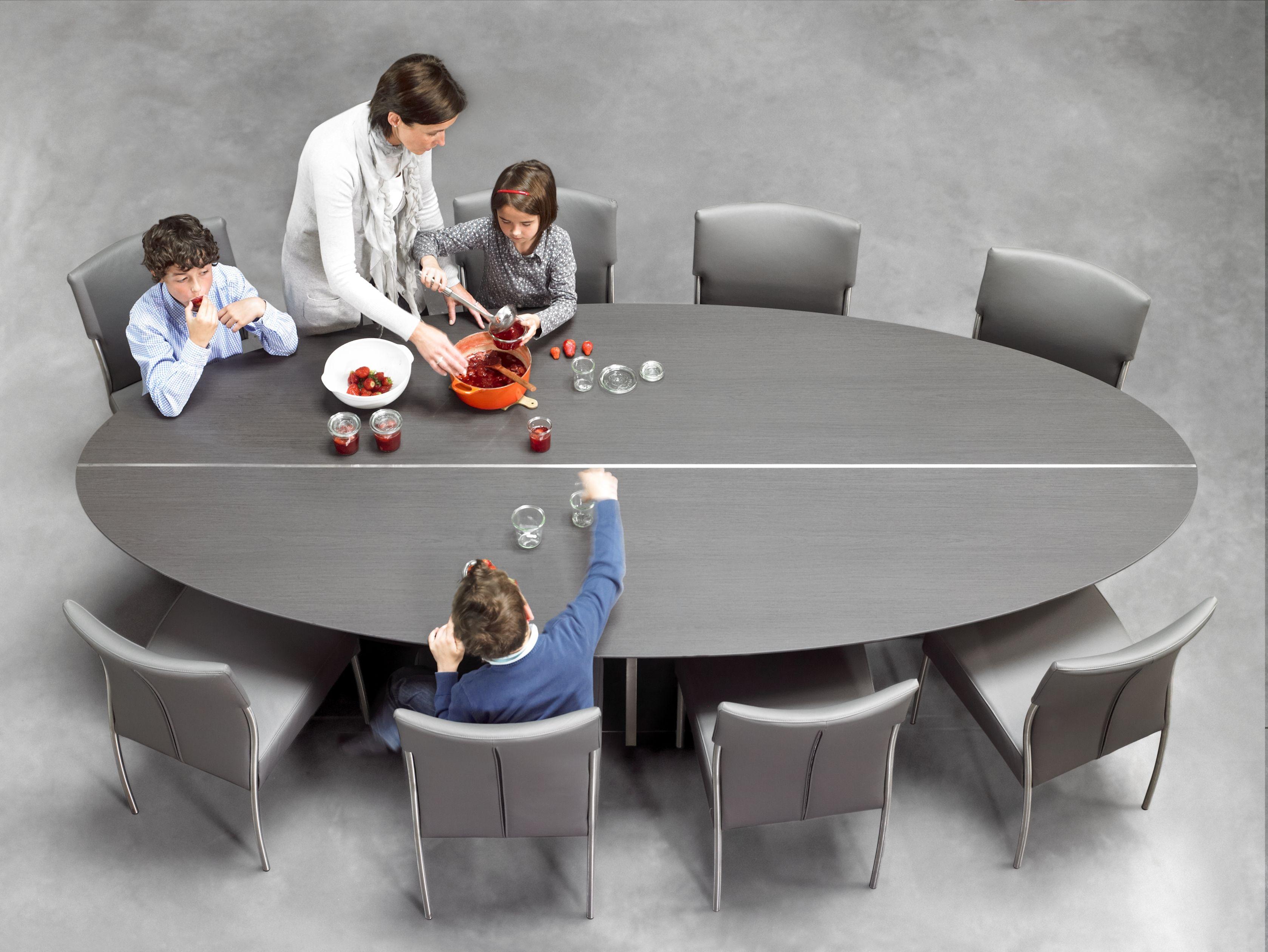 Table Ovale En Verre Salle Manger Table De Salle A Manger Design