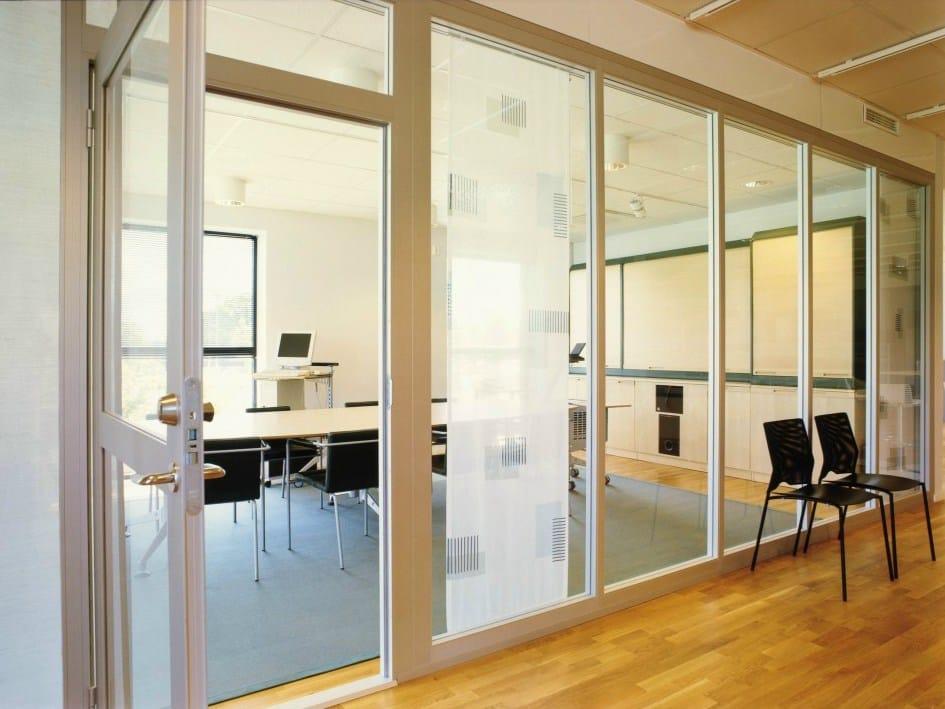 cloisons de bureau en verre plentywall by abstracta. Black Bedroom Furniture Sets. Home Design Ideas