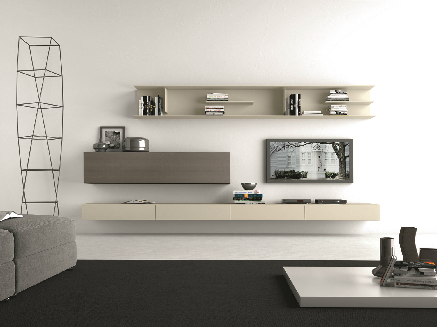 Ciatti mobili tv wall: storage units eracle consolle collection ...