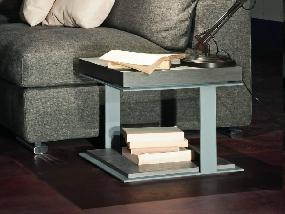 Tavolino basso quadrato inside by presotto industrie for Presotto mobili prezzi