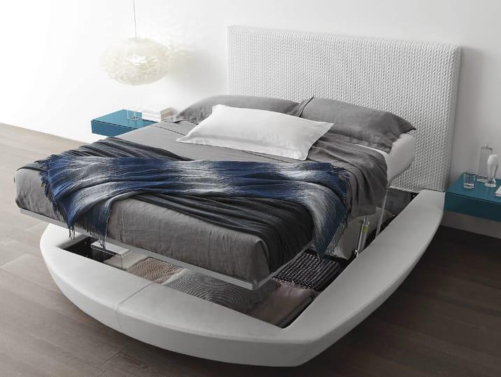 Round storage bed zero size by presotto industrie mobili for Letto presotto