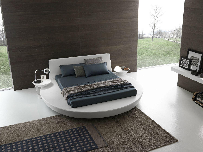 Round storage bed zero size by presotto industrie mobili for Presotto mobili