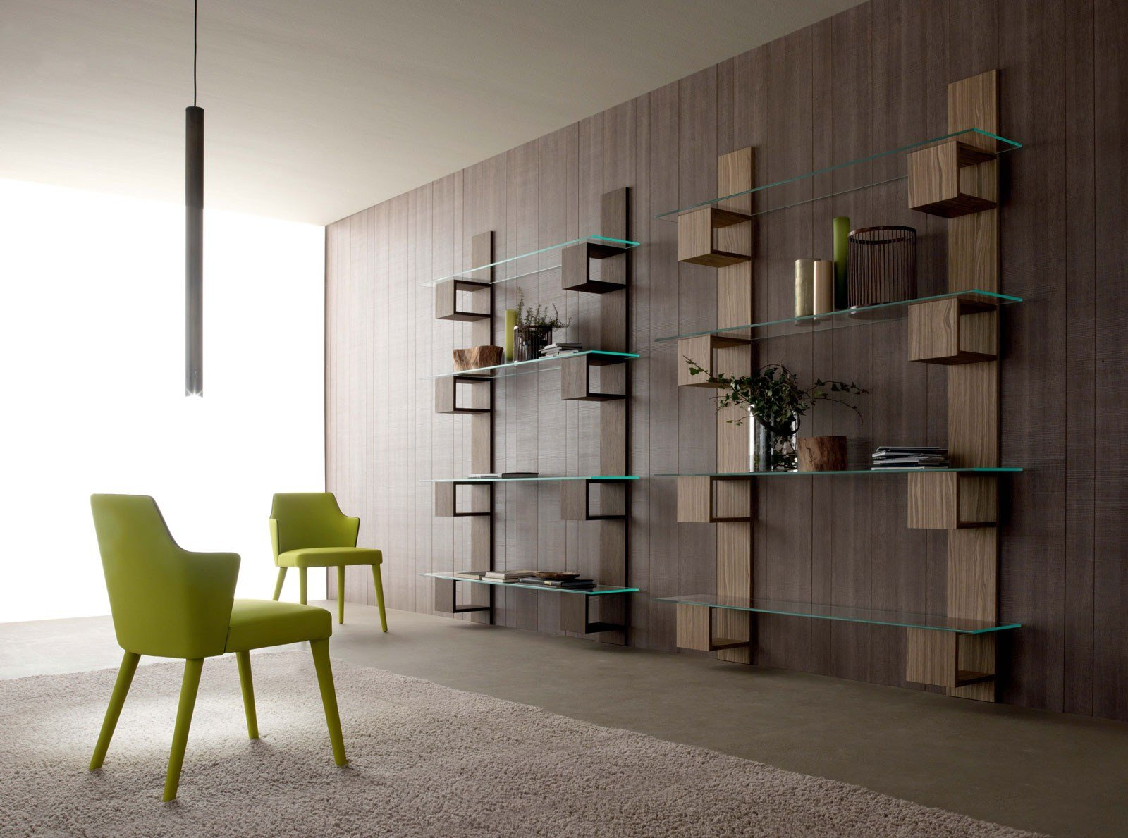 biblioth que murale composable infinity by italy dream design. Black Bedroom Furniture Sets. Home Design Ideas