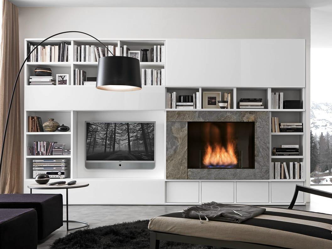 Wandregal Designs Presotto Wohnzimmer