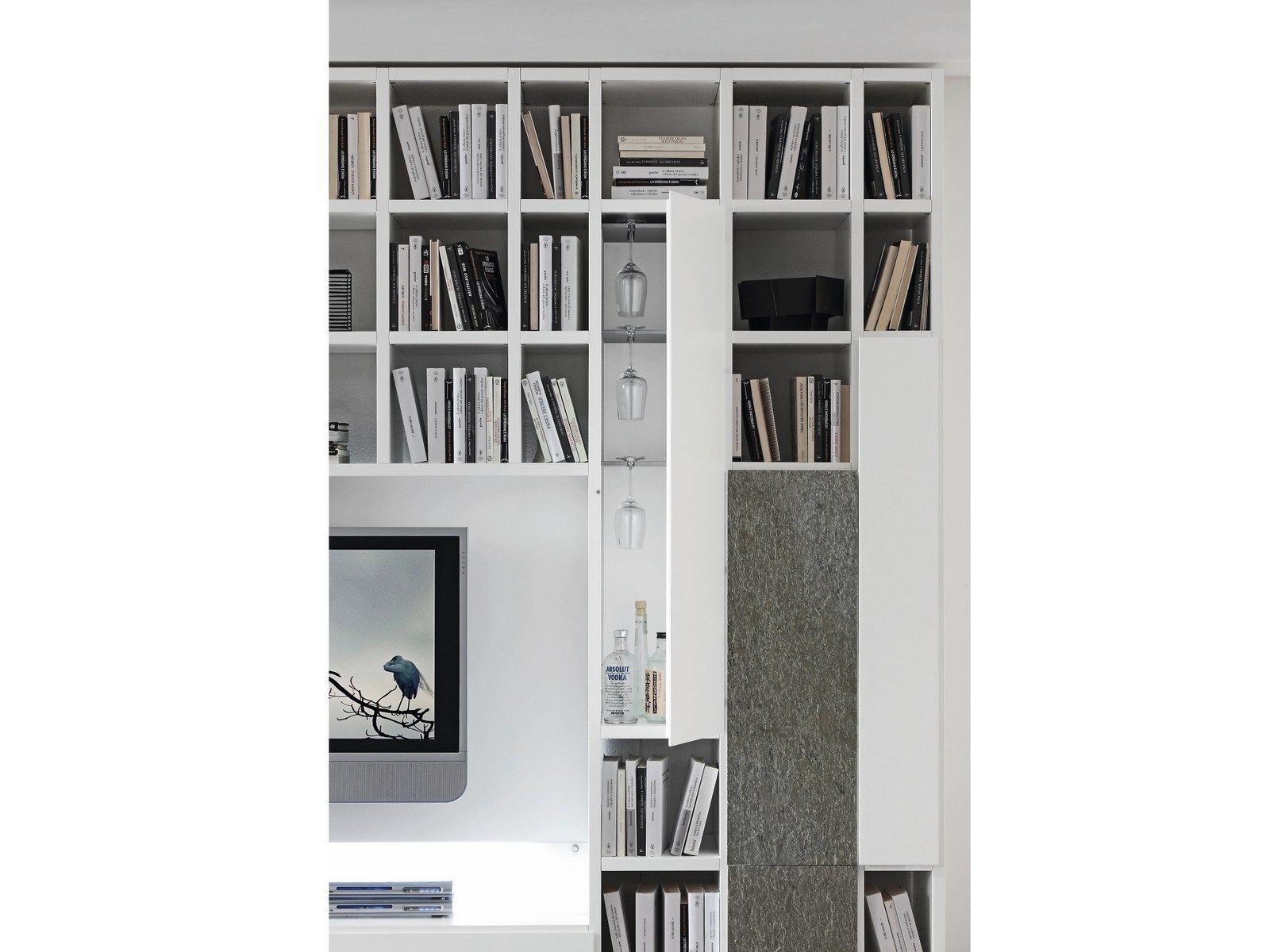 parete attrezzata provenzale bicolore : Parete Attrezzata A Moduli Bicolore Mobili Casa Idea Stile Pictures to ...