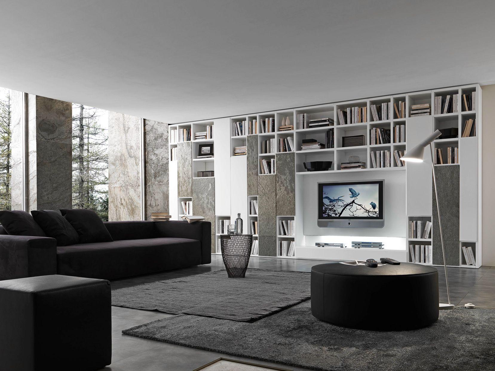 Дизайн Гостиной С Книжными Шкафами В Москве