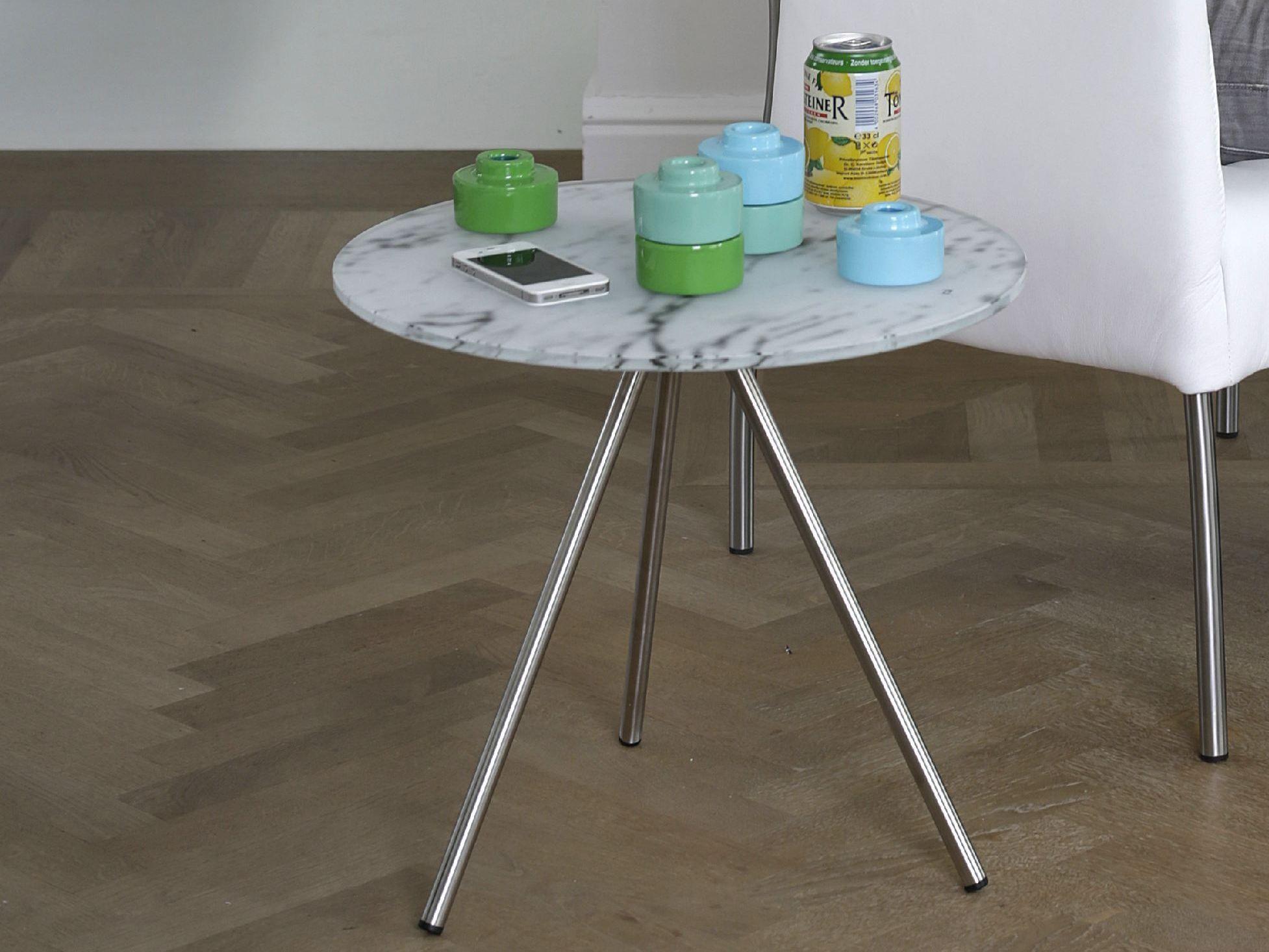 Table Basse Ronde De Salon Tripod By Joli