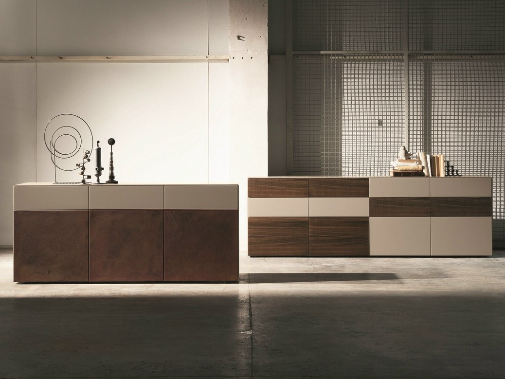 Inclinart sideboard by presotto industrie mobili design for Presotto industrie mobili