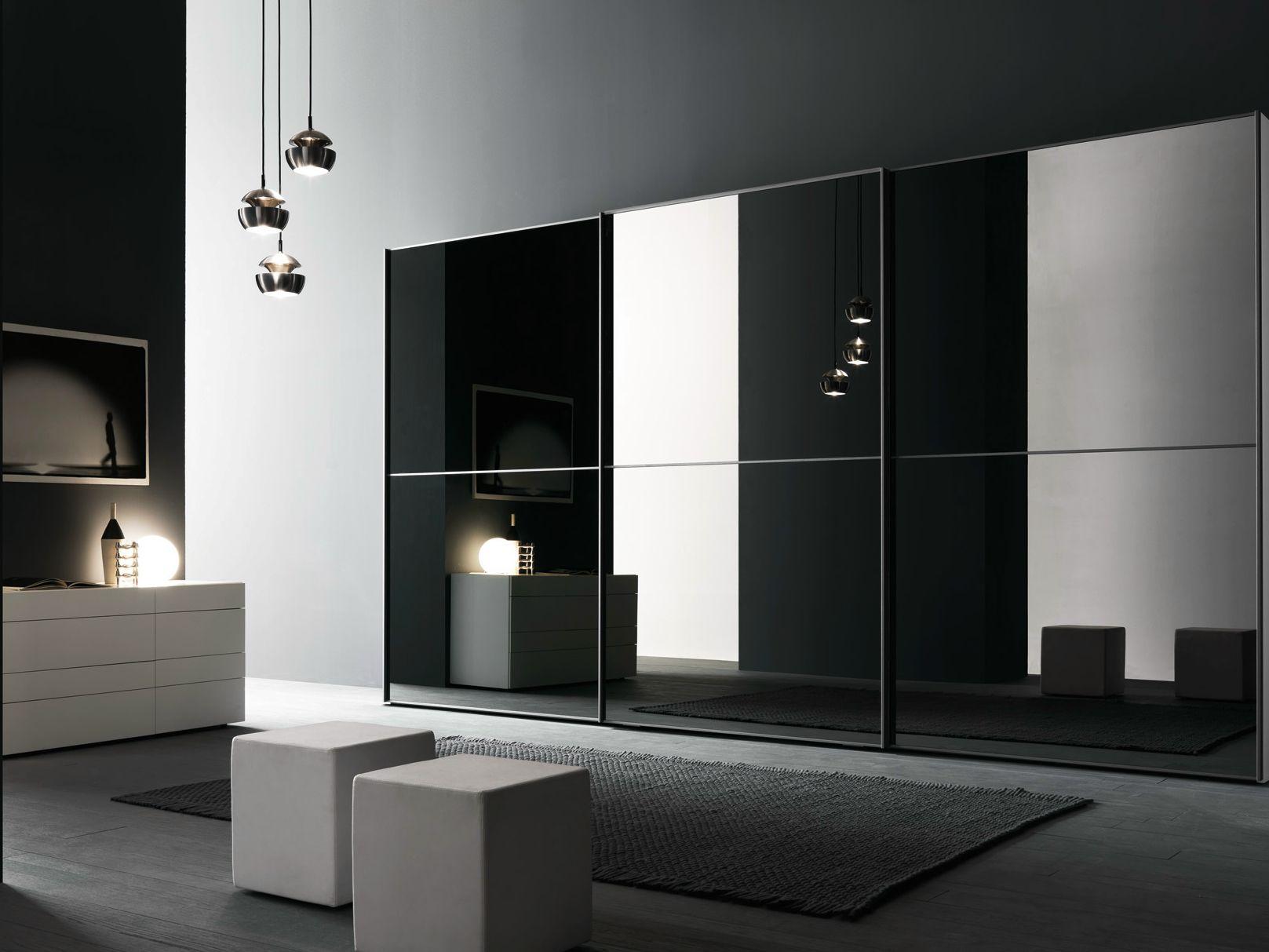 Componibile Con Ante Scorrevoli L12 By Presotto Industrie Mobili  #585147 1617 1213 Mobili Multiuso A Specchio