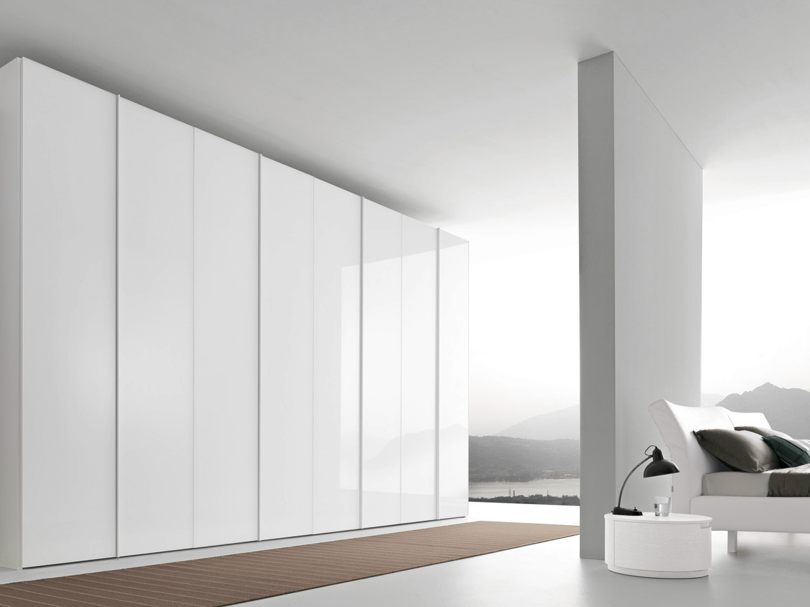 Sectional Wardrobe Glass Tecnopolis Collection By Presotto