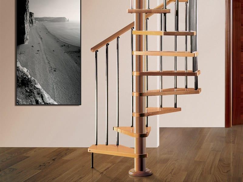 Escalera de caracol de madera tekla by rintal - Escaleras de caracol de madera ...