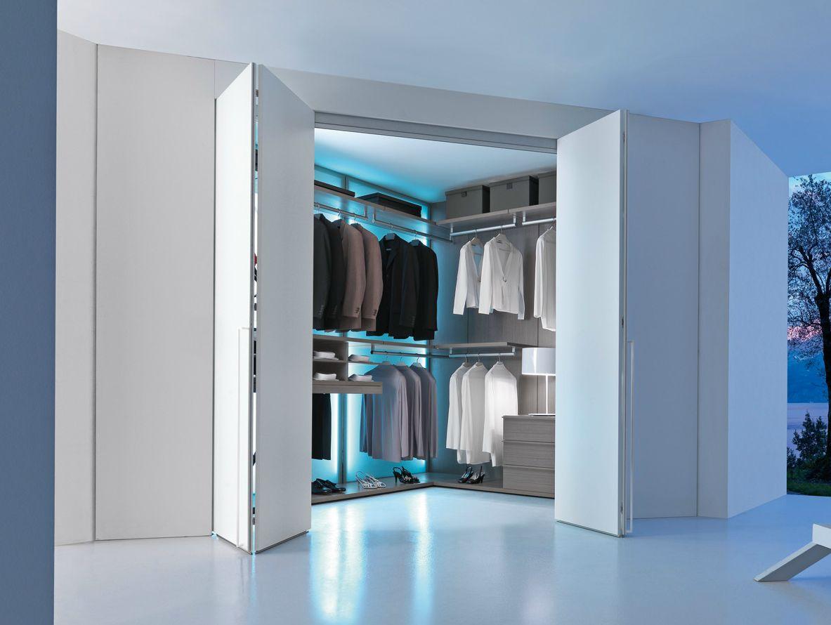 Varius armario vestidor de esquina by presotto industrie - Armarios de esquina ...