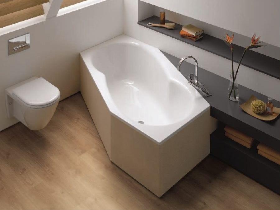 Sechseck- Badewanne BETTEMETRIC by Bette Design Schmiddem Design