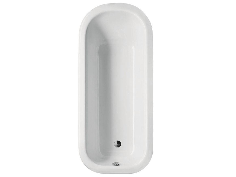 Vasca da bagno ovale da incasso betteromantica by bette - Vasche da bagno ovali ...