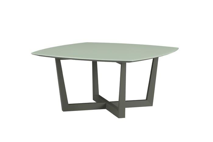 Dettagli Su Tavolo Quadrato Design Stile Etnico Legno Massiccio Di ...
