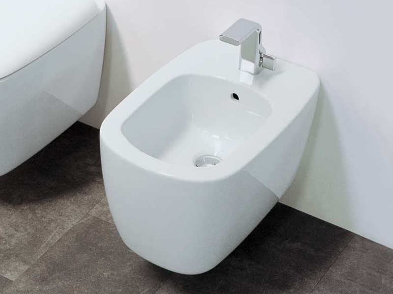 mono 39 bidet suspendu by ceramica flaminia design patrick. Black Bedroom Furniture Sets. Home Design Ideas