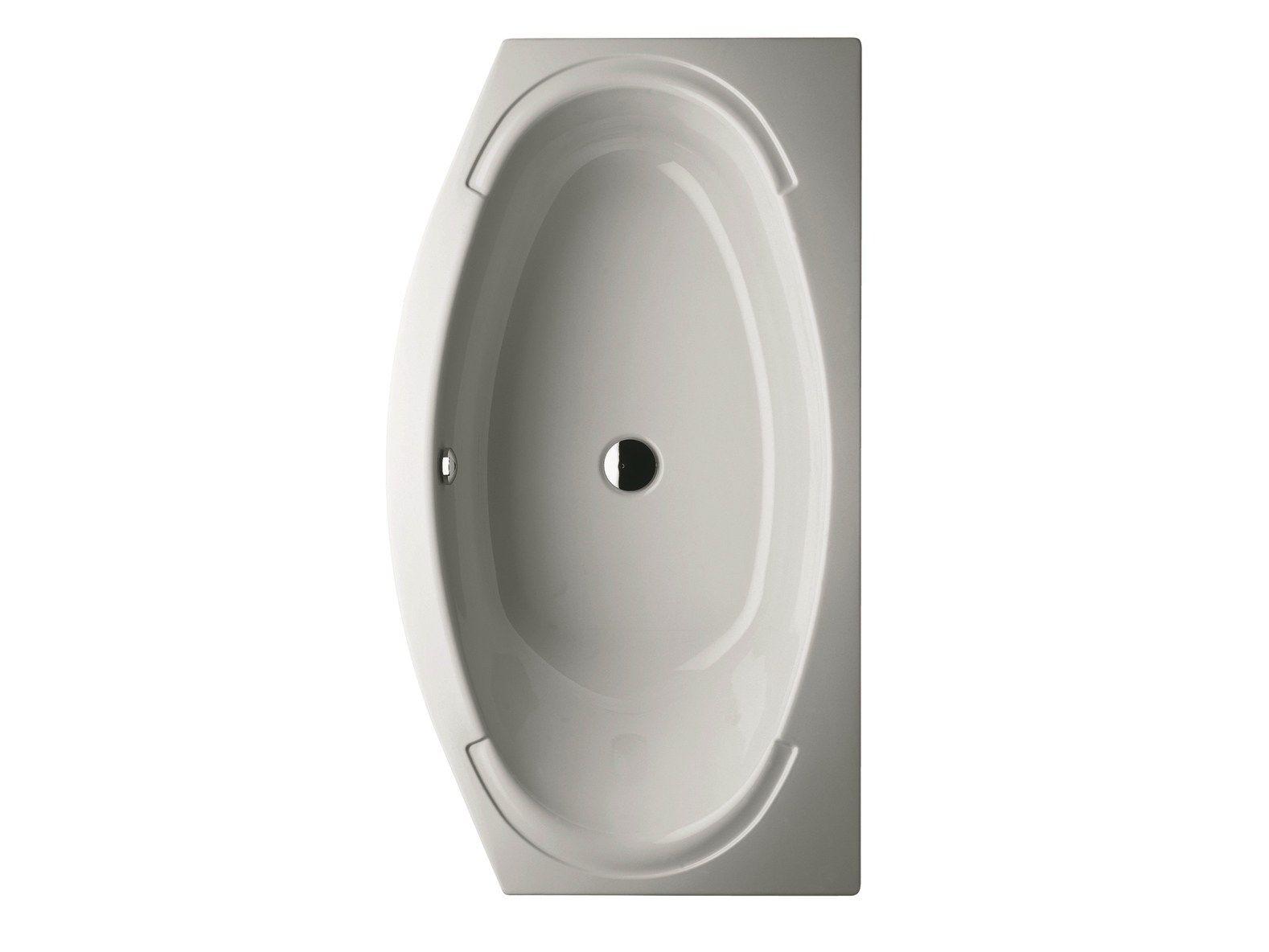 Vasca da bagno in acciaio smaltato bettehome by bette design schmiddem design - Vasca da bagno in acciaio ...