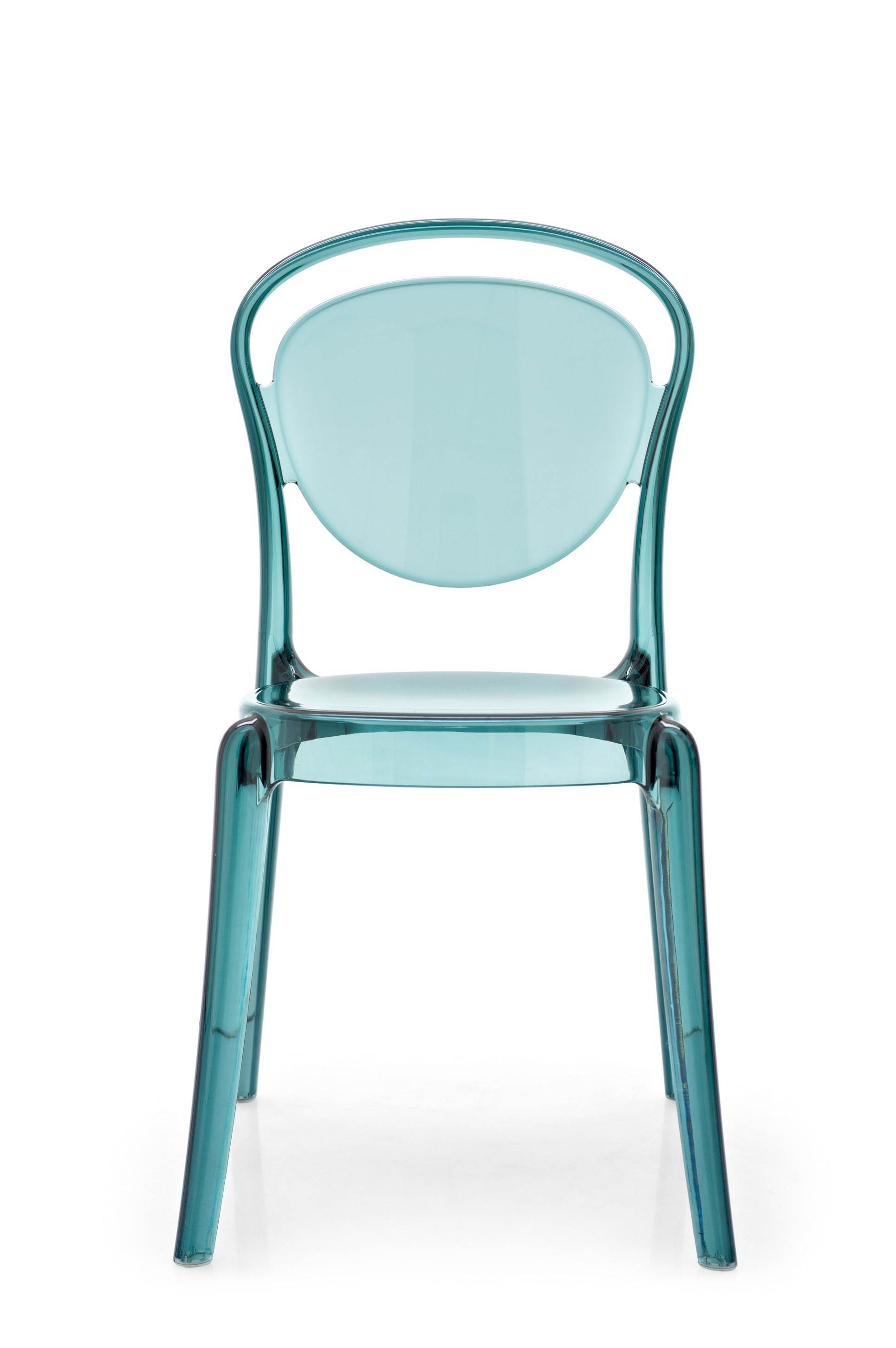 Parisienne by calligaris design archirivolto for Chaise en polycarbonate