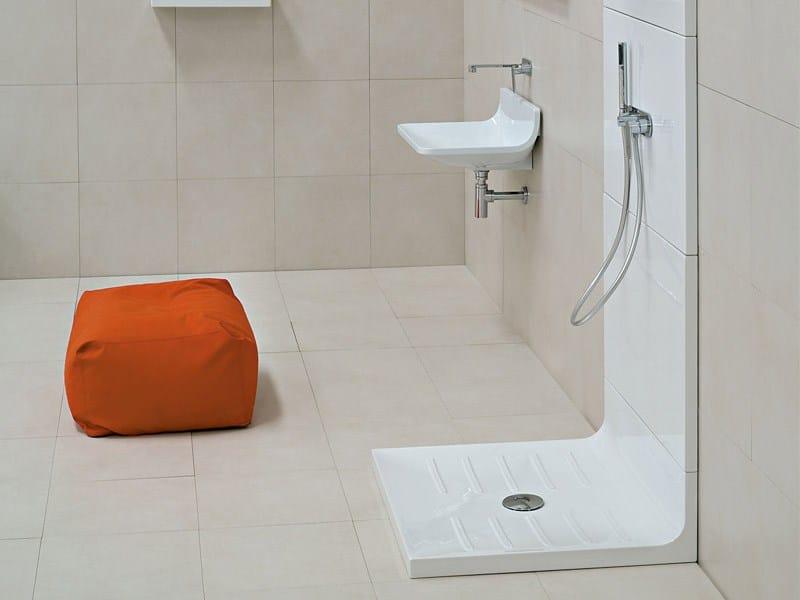 Piatto Doccia 90x80 Ceramica.Casa Moderna Roma Italy Piatto Doccia 90x80