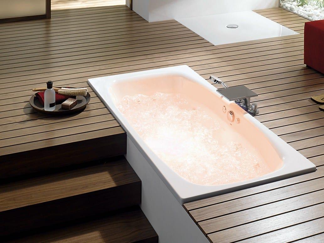 Vasca da bagno ovale da incasso bettemicrojet collezione bagno by bette - Vasca da bagno ovale ...