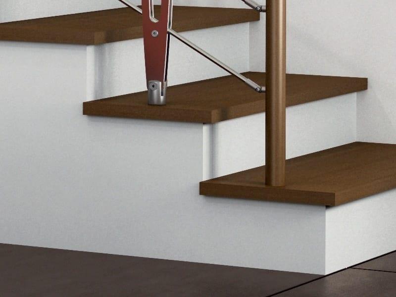 Revestimiento para escaleras de haya by rintal for Escaleras rintal