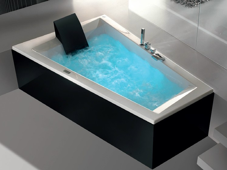 baignoire hydromassage en bois era plus 180 x 120 70 by hafro. Black Bedroom Furniture Sets. Home Design Ideas