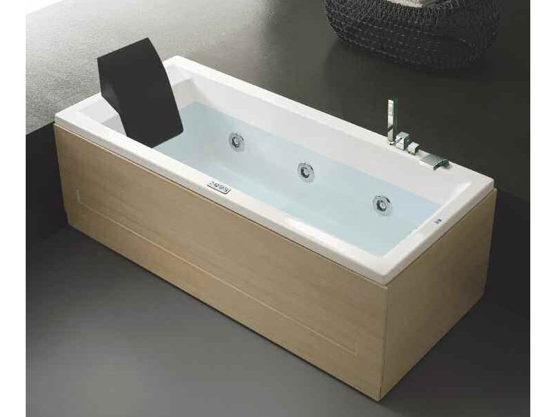 baignoire hydromassage en bois era 170x70 by hafro. Black Bedroom Furniture Sets. Home Design Ideas
