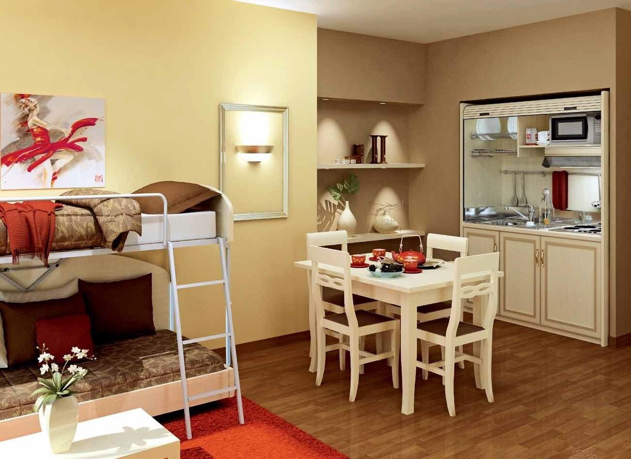 Arredamento per residence in stile classico cristina for Arredamento in stile