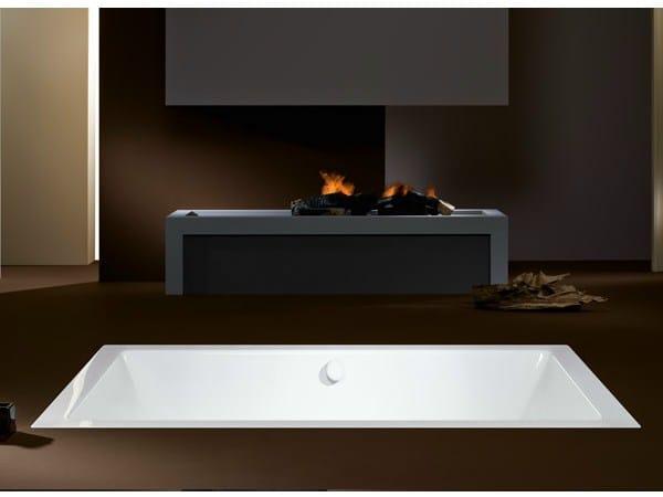 Whirlpool einbau badewanne f r chromotherapie conopool by kaldewei italia design sottsass - Whirlpool einbau ...