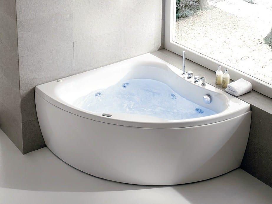 Vasca da bagno idromassaggio in acrilico diva by gruppo - Vasca da bagno acrilico ...