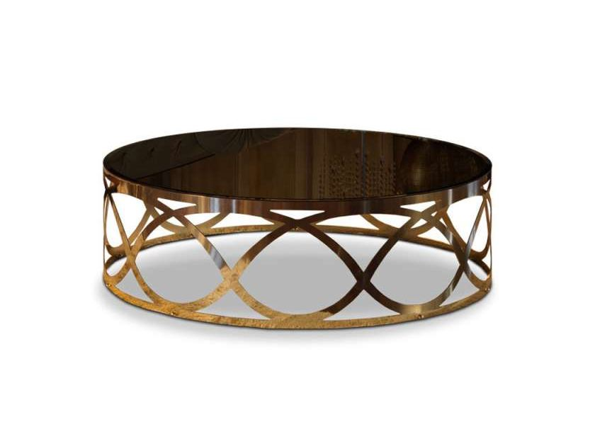 Denim mesa de centro baixa by formenti - Mesa centro redonda ...