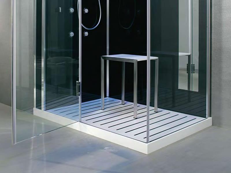 cabine de douche multifonction en cristal vapeur tempo. Black Bedroom Furniture Sets. Home Design Ideas