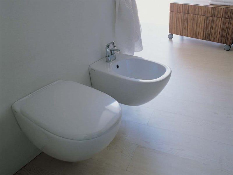 Spin bidet by ceramica flaminia design ludovica roberto for Architec bidet sospeso