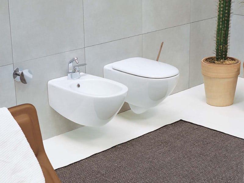 como 51 lavabo da appoggio by ceramica flaminia. stili di arredo ...