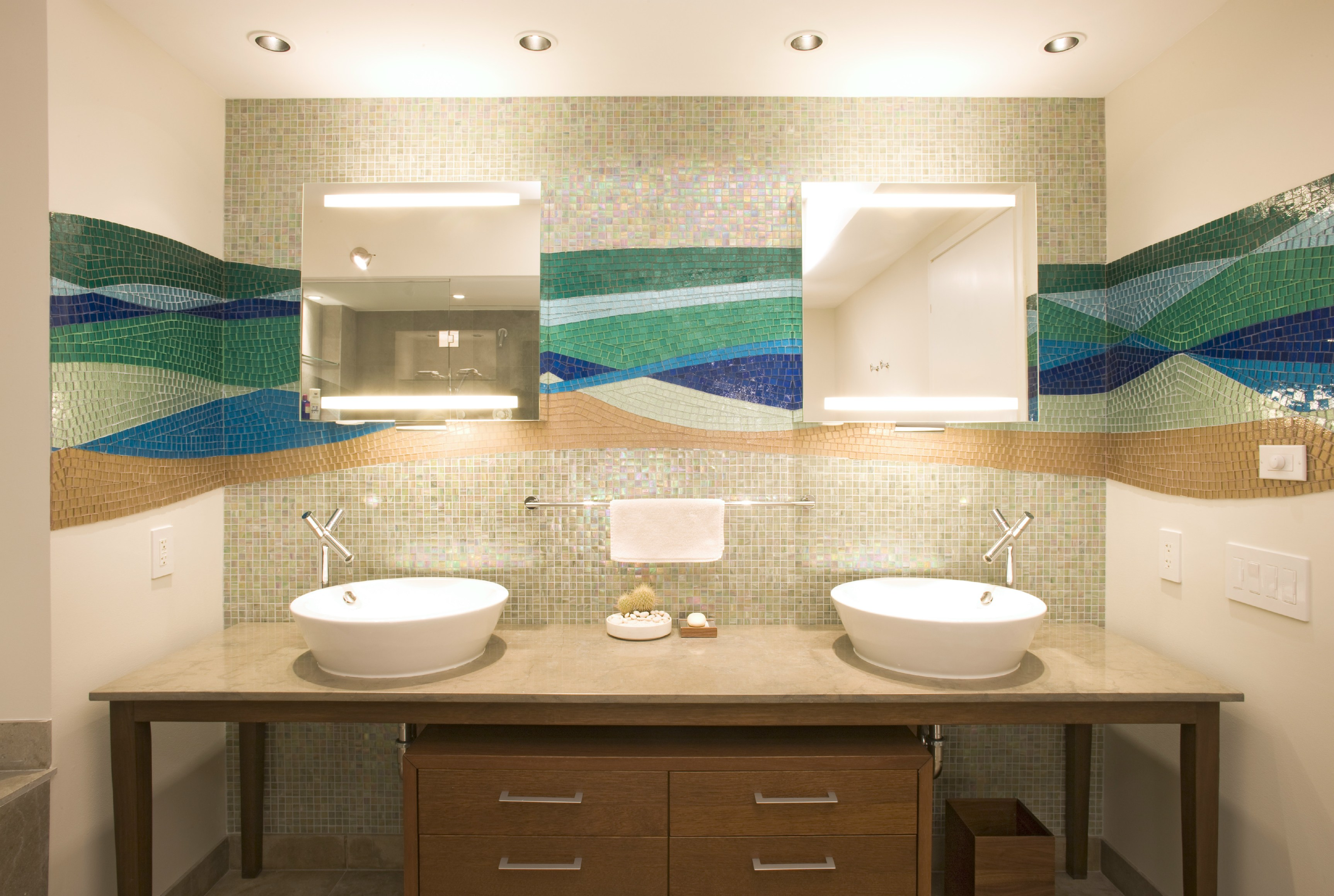 Mosaïque en verre shining by trend group