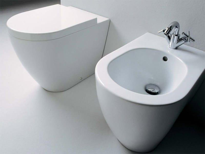 Link wc by ceramica flaminia design giulio cappellini - Flaminia sanitari bagno ...